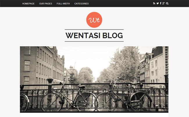Wentasi WordPress Theme