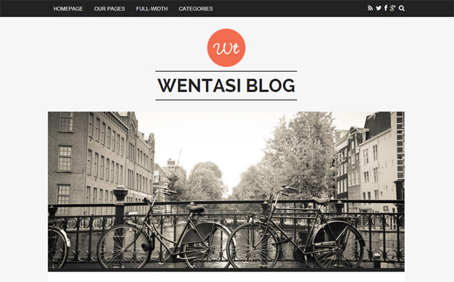 Wentasi WordPress Theme