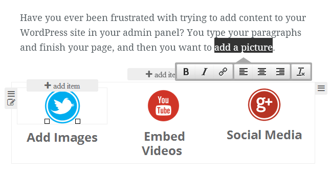 VelocityPage Frontend Inline Editor