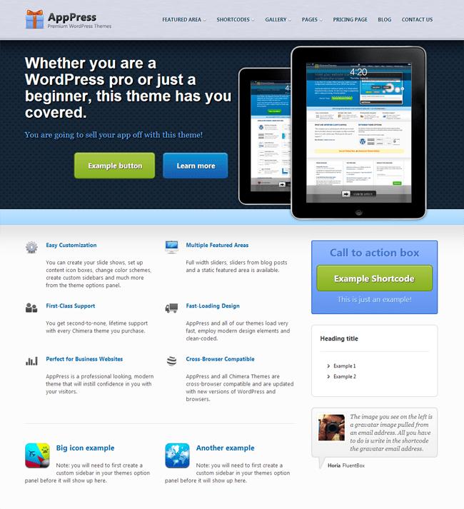 AppPress WordPress Theme