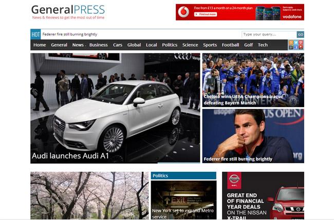 GeneralPress Free WordPress Theme