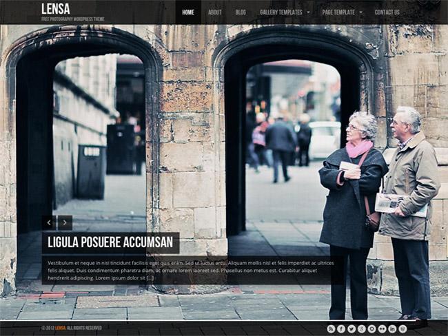 Lensa Free WordPress Theme