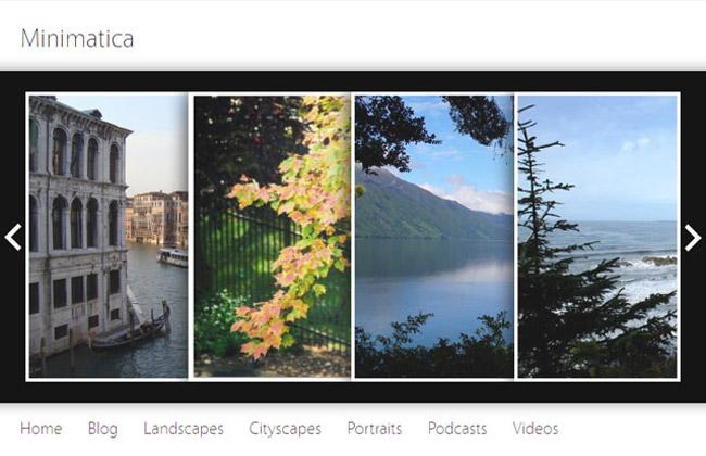 Minimatica Free WordPress Theme