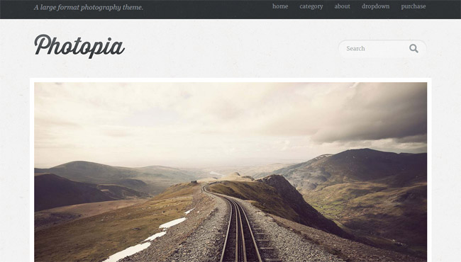 Photopia Free WordPress Theme