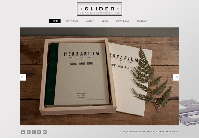 Slider Free WordPress Theme