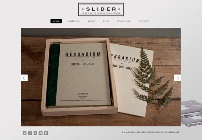Slider WordPress Theme