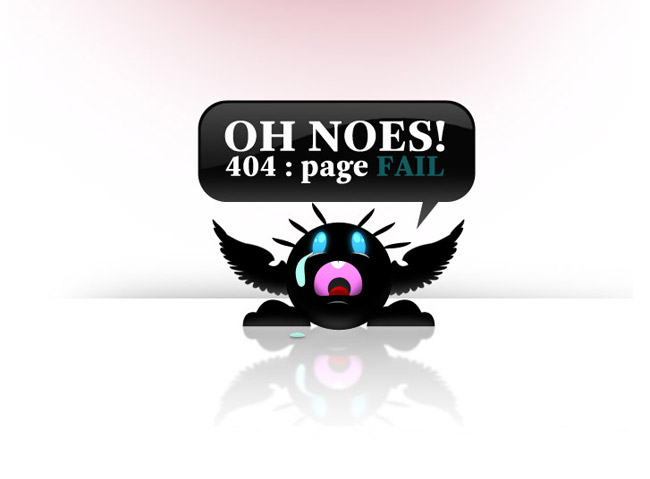 An Idea Error Page