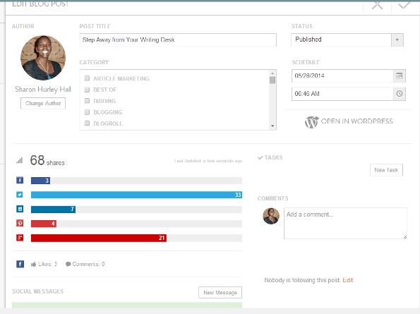 CoSchedule Social Analytics