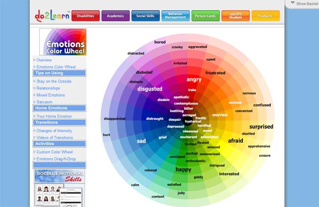 Do2Learn Color Picker Website
