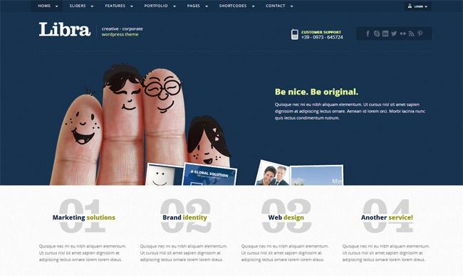 Libra Free WordPress Theme