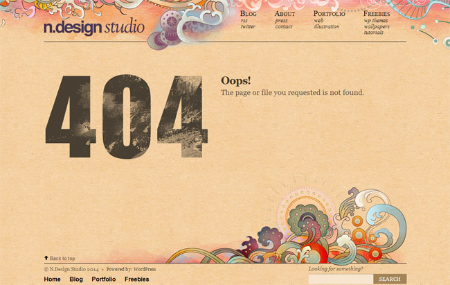 n.design studio Error Page