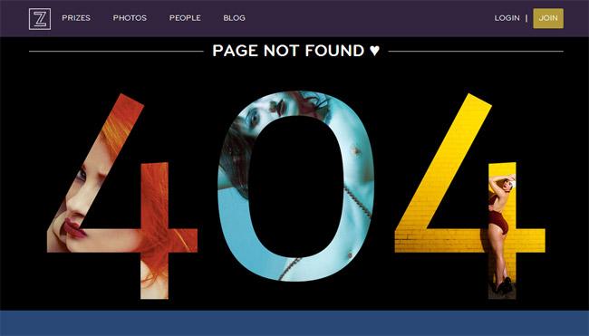 Zivity Error Page