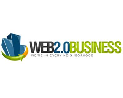 Web 2.0 Business Logo