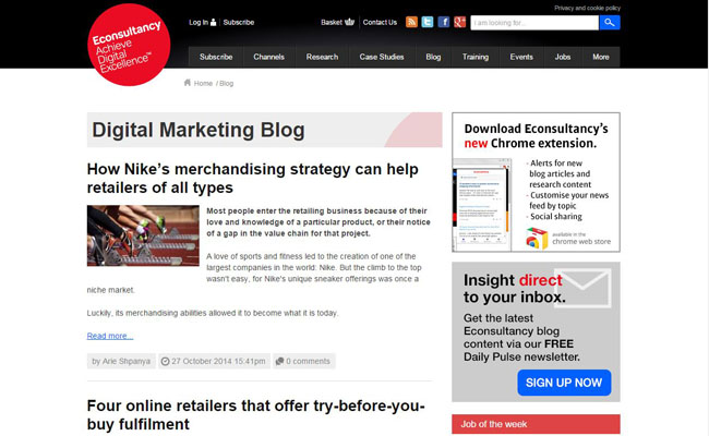 Econsultancy Digital Marketing Blog