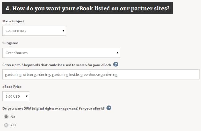 Listing on Partner Sites