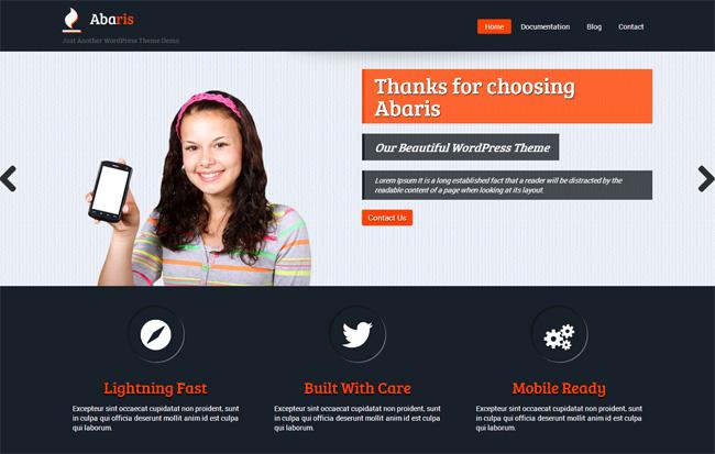 Abaris Free WordPress Theme