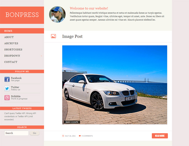 BonPress WordPress Theme
