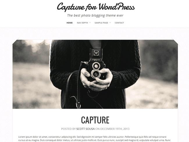 Capture Free WordPress Theme