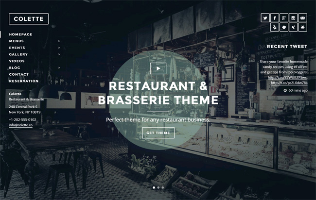 Colette WordPress Theme