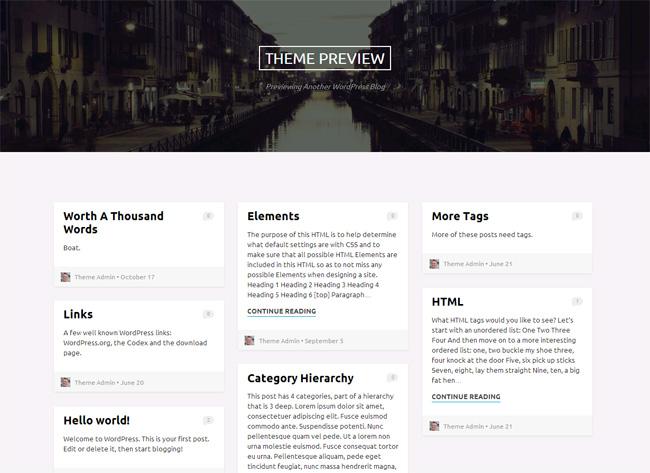 Griffin Free WordPress Theme