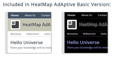 Colour Schemes of Basic Version of HeatMap Theme