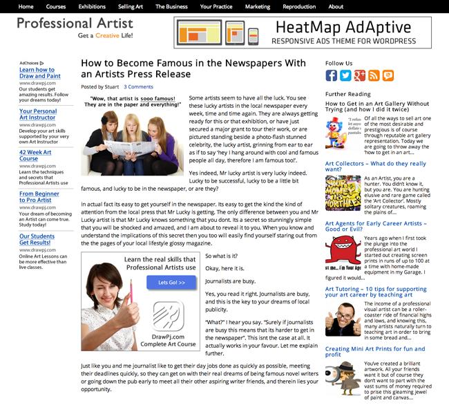 An Example of HeatMap Theme