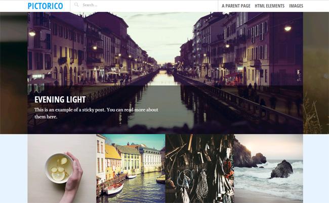 Pictorico Free WordPress Theme