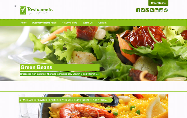Restaurante Free WordPress Theme