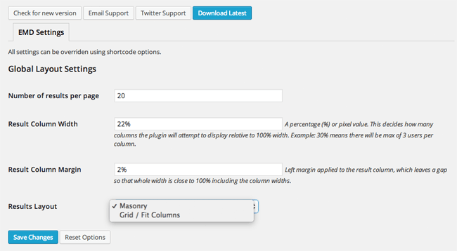 UserPro Enhanced Member Directory