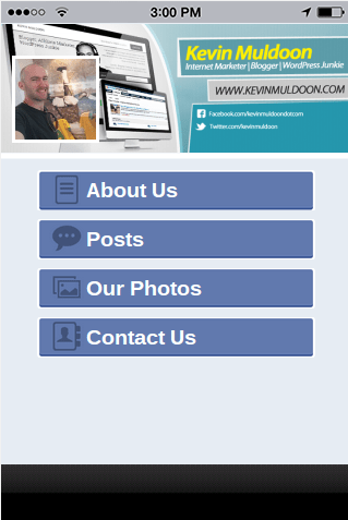 Make a Quick App With Your Facebook Page