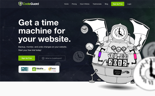 The Home Page of CodeGuard