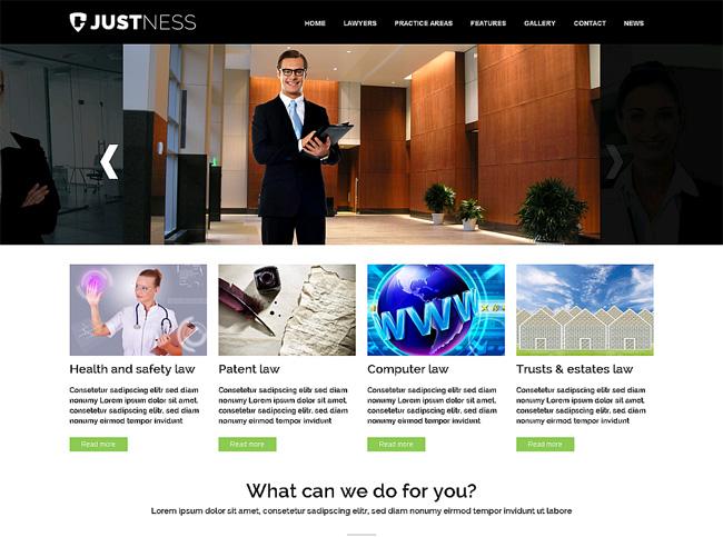 Justness Premium WordPress Theme