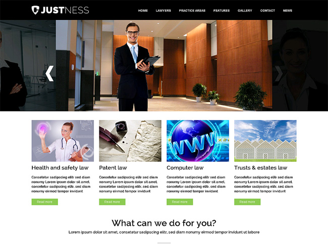 Justness Premium WordPress Theme