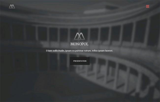 Monopol Premium WordPress Theme