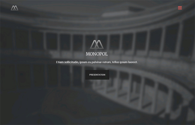Monopol Premium WordPress Theme
