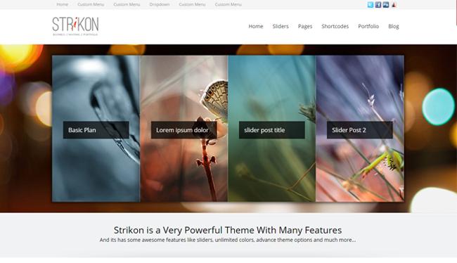 Strikon WordPress Theme