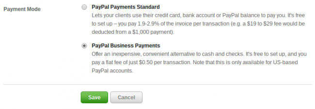 Paypal Business Payments