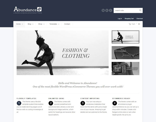 Abundance WordPress Theme
