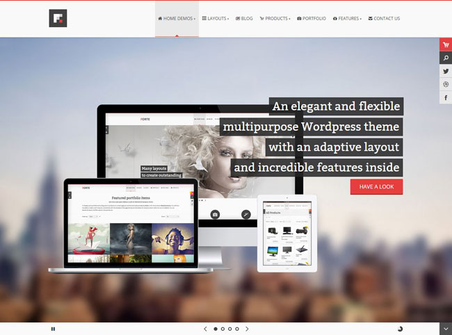 Forte WordPress Theme