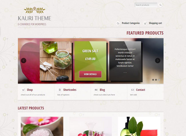 Kauri WordPress Theme