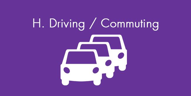 Productive Procrastination - Driving