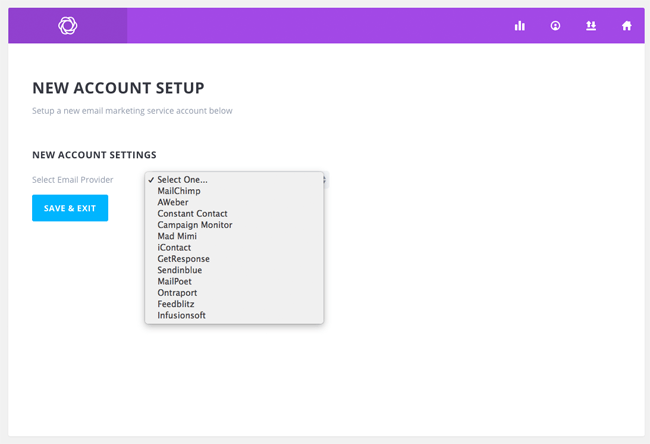 Select Email Provider
