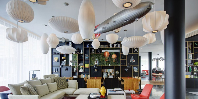 The citizenM Lobby