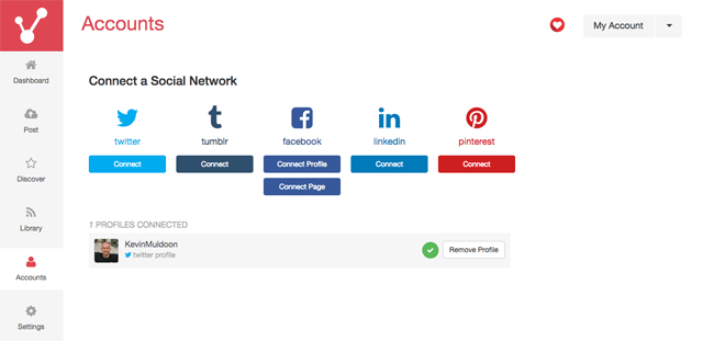 Connecting a Social Network