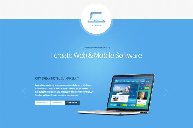 Freelancer WordPress Theme