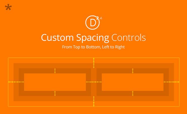 Custom Spacing Controls