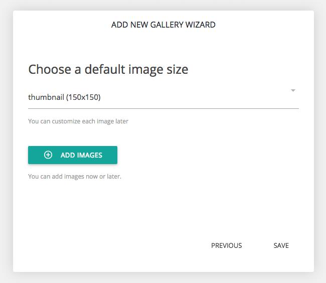 Choose Thumbnail Size