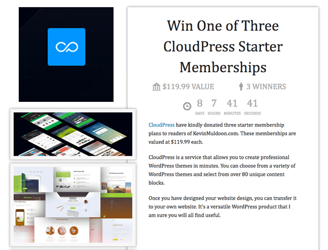 CloudPress Competition