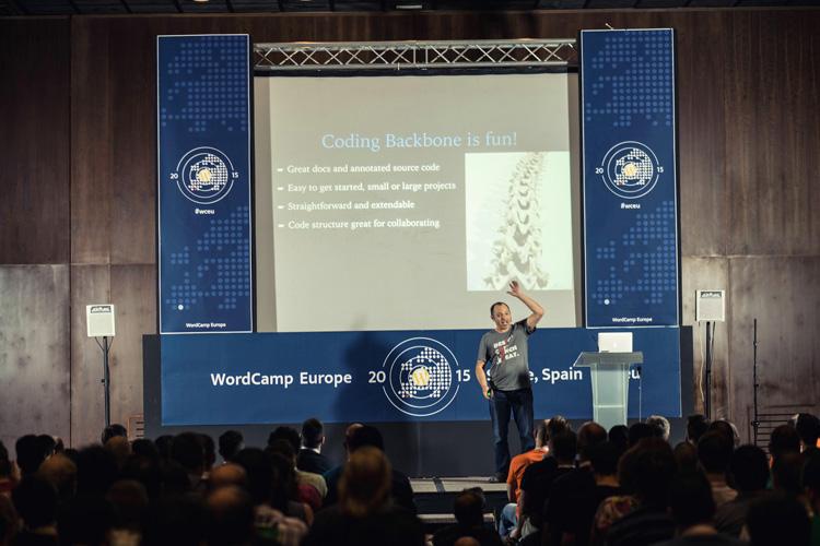 Talk at WordCamp Europe