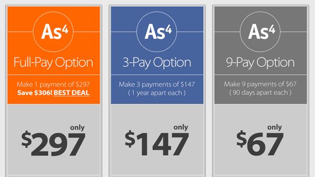 AmaSuite Pricing